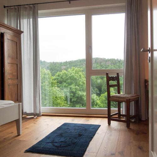 Schlafzimmer mit Weitblick
